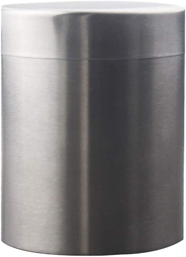 Storage Metal Pot with Lid 4,4 x 4,4 x 6 cm-Pink-TINPLATE