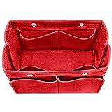 Felt Insert Bag Organizer Bag In Bag For Handbag Purse Tote Diaper Bag, Fits LV Speedy Neverfull, 3 Sizes, 6 Colors
