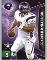2011 Panini Adrenalyn XL Football Card #174 Donovan McNabb - Minesota Vikings - NFL Trading Card