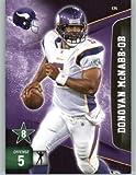 2011 Panini Adrenalyn XL Football Card #174 Donovan McNabb - Minesota Vikings - NFL Trading Card