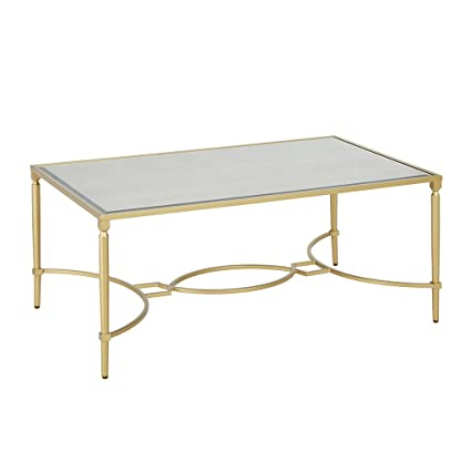 Amazon Com Turner Coffee Table Antique Gold See Below Kitchen Dining