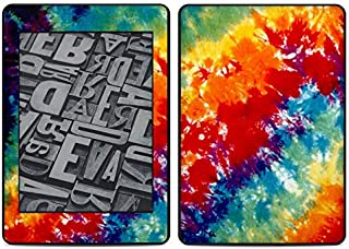 product image for Tie Dyed Amazon Kindle Paperwhite 2018 Full Vinyl Decal - No Goo Wrap, Easy to Apply Durable Pro