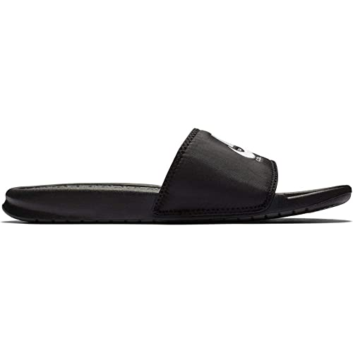 30e21e0cd36 NIKE Benassi JDI Txt Se Flip Flops Men Black 48.5  Amazon.co.uk  Shoes    Bags