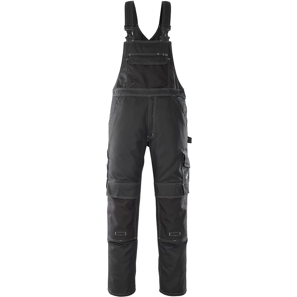 Black L82cm//C64 Mascot 08269-010-09-82C64Orense Bib /& Brace Overalls