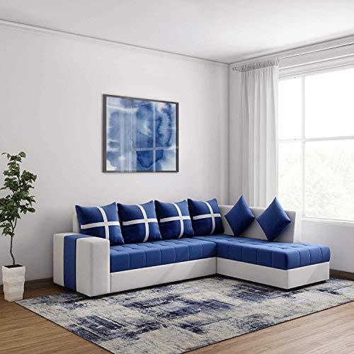Torque Alita 6 Seater Sofas  Wood ,Blue