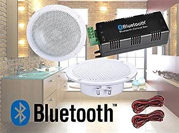 digitálicos Audio Bluetooth Kit Bluetooth Amplificador de Altavoces de Techo Resistente al Agua Altavoces de Techo