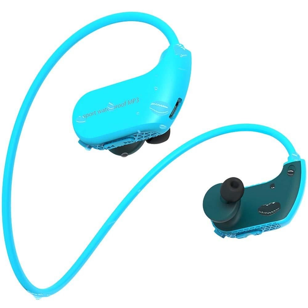 【ふるさと割】 8G 防水スポーツヘッドフォン ウェアラブルイヤホン B07H5Q3K6G 8G MP3プレーヤー オフライン 音楽再生 スイミングヘッドセット 音楽再生 アウトドアワークアウト(ブルー) B07H5Q3K6G, セカンドステージ:79893f39 --- nicolasalvioli.com