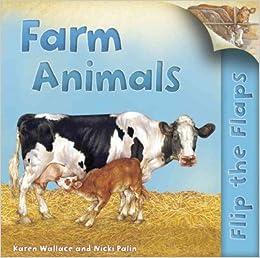Book Flip The Flaps: Farm Animals