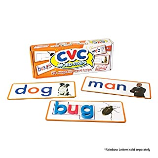 Junior Learning CVC Word Strips Educational Action Games, Multi