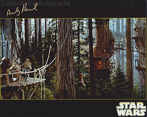 ANDY HERD as an Ewok - Star Wars: Return Of The Jedi GENUINE AUTOGRAPH