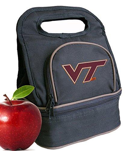 (Broad Bay Virginia Tech Hokies Lunch Bag Virginia Tech Lunch Box - 2 Sections!)
