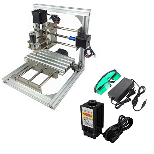 SUNWIN 3 Axis CNC Mini Milling Engraving Machine DIY Carving Image Picture Router Kit With 2500mW Laser Module
