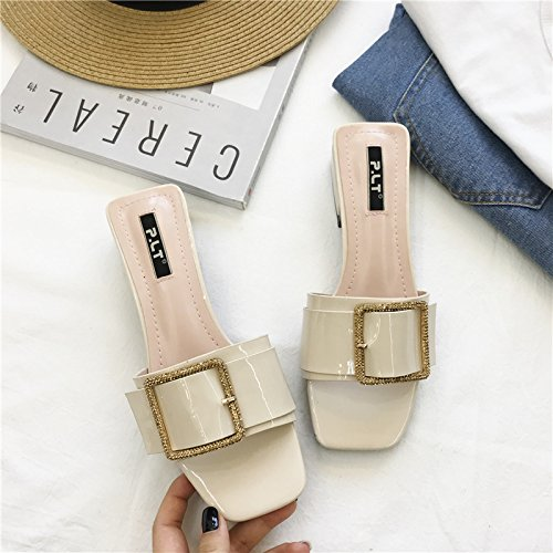 De Moda Mujer Zapatos ZHANGJIA albaricoque color xO0vzwwq