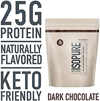 Isopure Naturally Flavored Keto Friendly Protein Powder