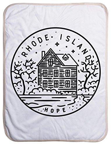 Newport Toddler Crib (Rhode Island State Design - Sherpa Baby Blanket (40