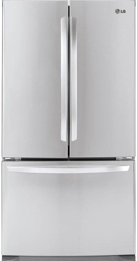 B003ORAYMU LG LFC21776ST - 20.7 Cu. Ft. Stainless Steel Counter Depth French Door Refrigerator - Energy Star 51BBS5X9F5L.SL1000_