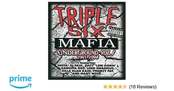 triple six mafia underground vol 1 vinyl