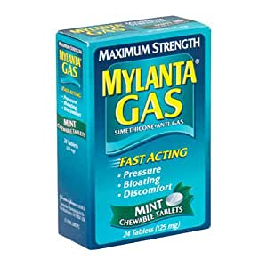 Amazon Com Mylanta Gas Simethicone Anti Gas Maximum