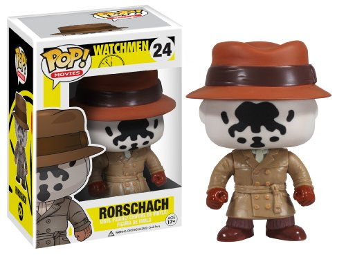 DC Comics Funko Pop! Watchmen Rorschach Fig