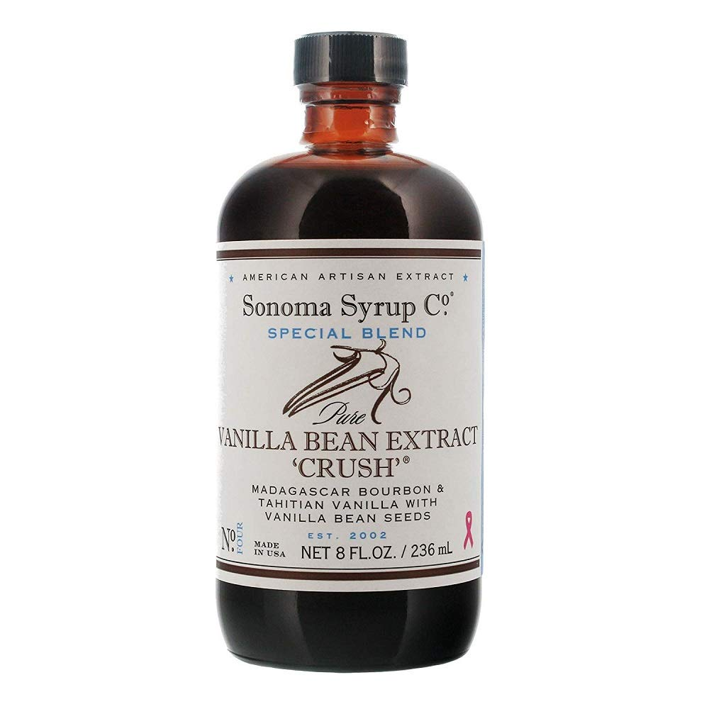 Sonoma Syrup Co. Special Blend Vanilla Bean Extract ''Crush'' 8 fl oz