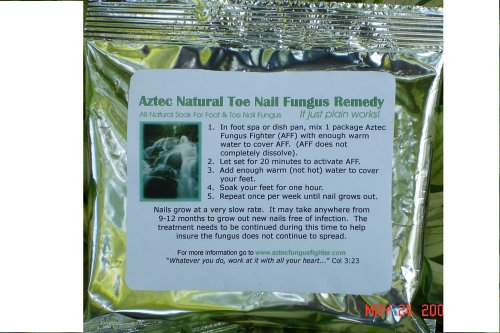 Antibiotic Foot Soak Rinse for Healthy Skin and Dry, Cracked Feet & Hands - 4 Monthly Supply by Aztec Fungus Fighter