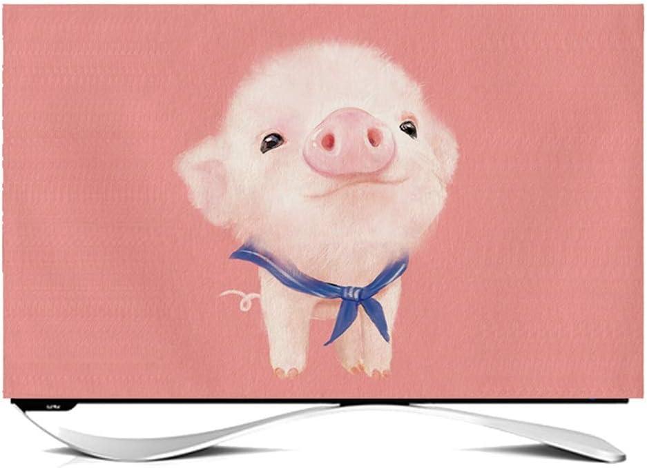 Ting Ting Cubiertas Protectoras Decoración De Dibujos Animados TV LCD Cubierta De Polvo Computadora Display Cubierta De Tela Tingting-Funda para Monitor (Color : Bear, Size : 55 Inches): Amazon.es: Hogar