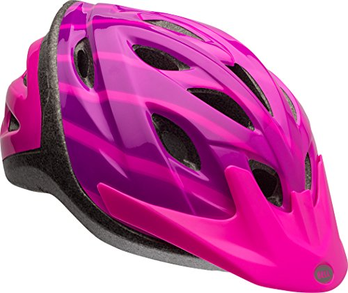Bell Skateboard - Bell Axle Youth Bike Helmet, Pink Radiant