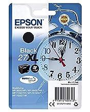 Epson C13T27114012 - Cartucho de Tinta para Impresoras 27XL DURABrite Ultra, 17.7 ml, color negro