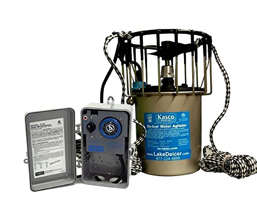 Kasco Deicer 3400d50 w/ C-20 Timer Thermostat Controller 3/4 HP 50 FT CORD by Kasco