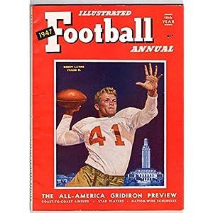 1947 Illustrated Football Annual Magazine Bobby Layne Texas 130626
