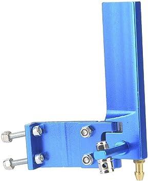 Blue, 95mm timone per Barca RC antiruggine per timoneria e Raffreddamento ad Acqua del Motore Modello di Barca da Corsa RC 01 Timone per Barca telecomandato
