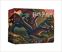 Harry potter paperback box set books 1 7 j k rowling mary flip to back flip to front fandeluxe Image collections