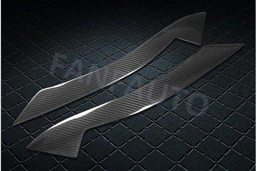 FANFAUTO Carbon Fiber Headlight Cover Eyelids Eyebrows for BMW Z4 E89 2009-2016