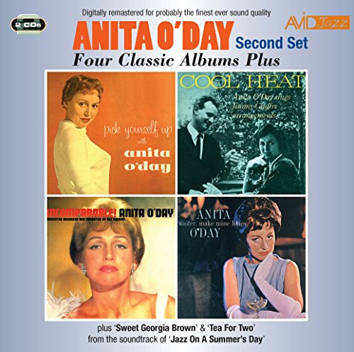 (Four Classic Albums Plus (Pick Yourself Up/Cool Heat/Incomparable/Waiter, Make Mine Blues) -  Anita ODay)