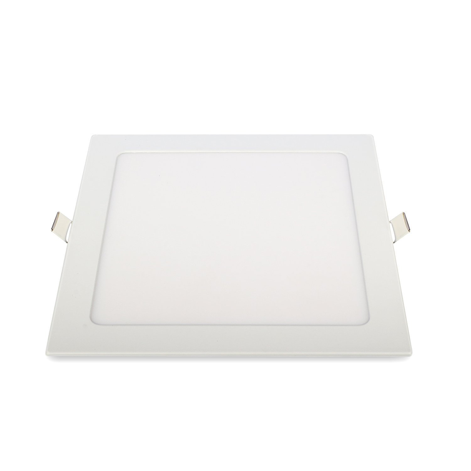 Rekabel 18W LED Square Panel Nature White Bright Light Nature White LED Recessed Ceiling Lights for Home Office Commercial Lighting(2 Pack) (3000) by Rekabel (Image #3)