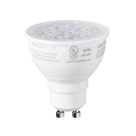 Dimmable 7 Watt Spotlight Daylight White 5000K,50W 75W GU10 LED Light Bulbs