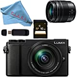 Panasonic Lumix DC-GX9 Mirrorless Micro Four Thirds Digital Camera 12-60mm Lens (Black) Basic Bundle
