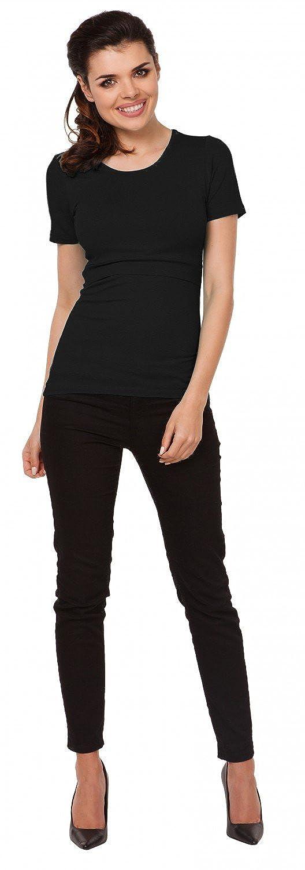 Kurzarm 991c Zeta Ville Damen Zweilagiges Still T-Shirt Rundhalsausschnitt