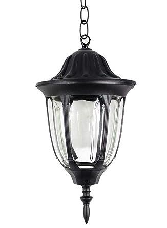 Vetrineinrete® - Lámpara de techo con diseño de farol de ...