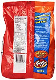 Hershey\'s KIT KAT and REESE\'S Miniatures Chocolate Mix (40-Ounce Bags, Pack of 2)