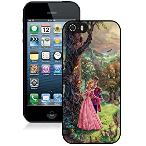 NEW DIY Unique Designed iPhone 5s Generation Phone Case For Thomas Kinkade Sleeping Beauty Phone Case Cover