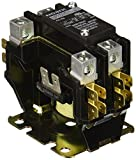 NOARK Electric Ex9CK20B10B7 Definite Purpose Contactor, Lug Terminals with Quick Connect Spades, 20 amp, 1 NO and Shunt, 24V Coil
