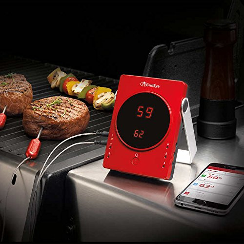 GrillEye Smart Bluetooth Grilling & Smoking Thermometer by GrillEye