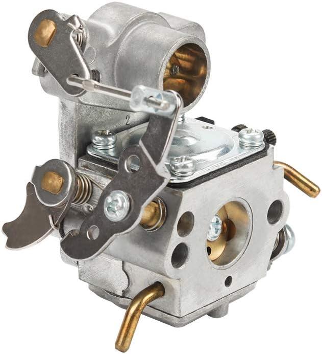 Adjusting Tool Air Filter for Poulan P3314 P3416 P3816 P4018 PP3416 PP3516 PP3816 PP4018 PP4218 PPB3416 PPB4018 PPB4218 Power Gas Chainsaw Dalom 545070601 C1M-W26C Carburetor Carb Cleaning kit