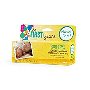 The First Years Lanolin Free Nipple Butter, 2 Ounce