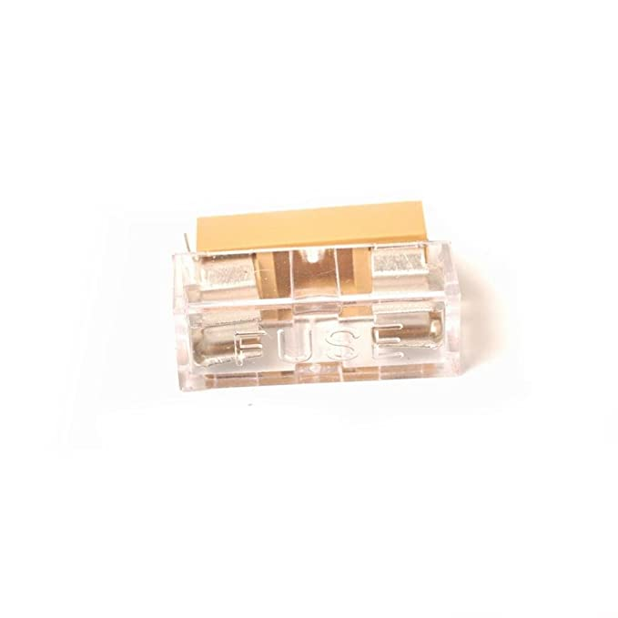 MagiDeal 10 Pieces Panel Mount PCB Fuse Holder With Cover For 5x20mm Fuse 250V 6A