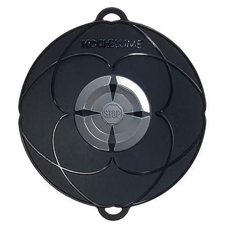 Kochblume Tapa Flor XS, Silicona, Negro, 22 cm: Amazon.es: Hogar