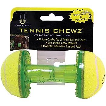 Amazon Com Nerf Dog Barbell Chew Dog Toy Large Blue