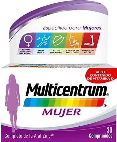Multicentrum Mujer, Complemento Alimenticio