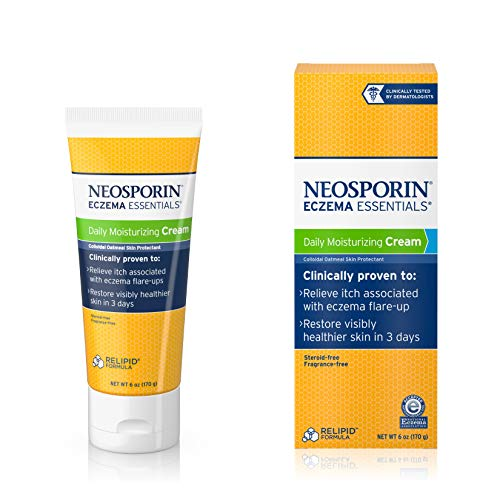 Neosporin Eczema Essentials Daily Moisturizing Cream, 6 Oz (Ointment Eczema)